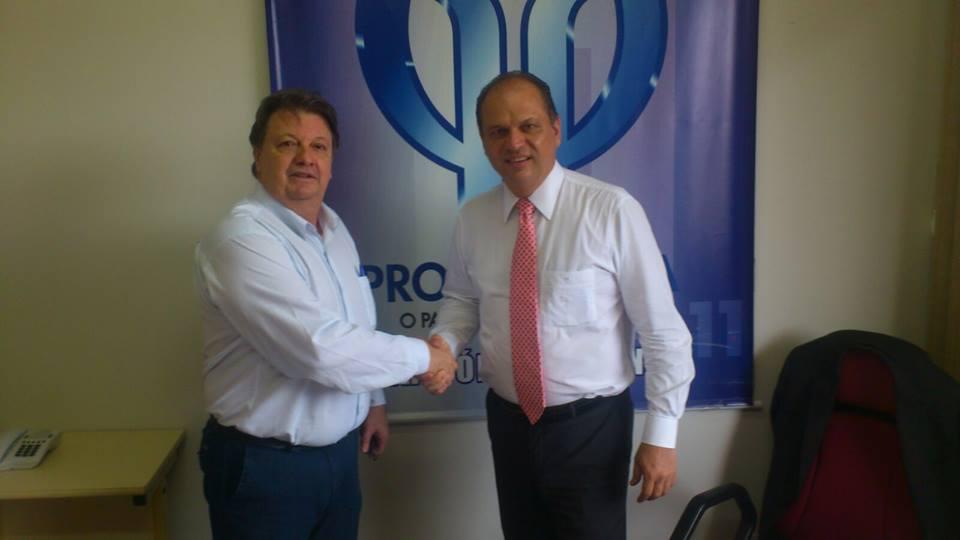 Rover e Ricardo Barros